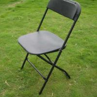Large picture Black Plastic Folding Chair