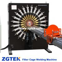 Large picture Filter bag cage welding machine line