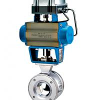Large picture Segment Ball Control Valve (Rack & Pinion)