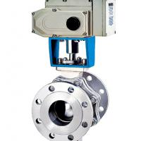 Large picture Electric Truunion Mounted Ball Valve