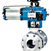 Large picture Pneumatic Trunnion Mounted Ball Valve