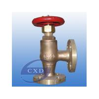 Large picture marine bronze screw down check angle  valve
