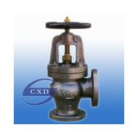 Large picture marine cast iron angle  valve