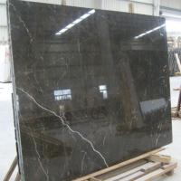 Large picture natural marble stone-BLACK MARBLE SLABS