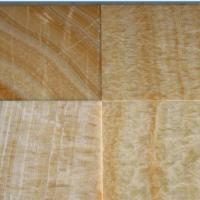 Large picture natural Wood grain Yellow marble tiles
