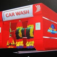 Large picture automatic rollover car wash machine