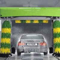 Large picture automatic rollover car washing machine