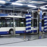 Large picture automatic bus&truck washer