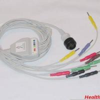 Large picture KENZ EKG cable with 10 leadwire,ECG cable