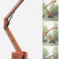 Aerial work lift-Trailing articulated boom lift