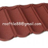 Large picture stone coated roof tile