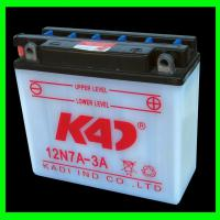 Large picture motorcycle battery