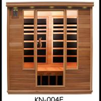 Large picture house sauna