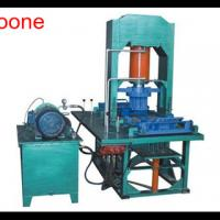 Large picture 150 type honeycomb coal briquette forming machine
