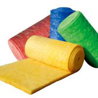 Large picture color glass wool