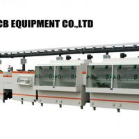Large picture PCB etching and stripping machine