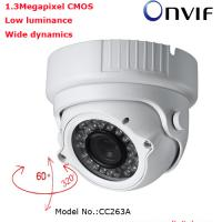 Large picture H.264 1.3Megapixel Infrared Dome IP Camera