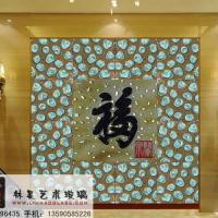 Large picture insulated decorative glass for door glass