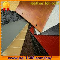 Large picture pvc leather for sofa
