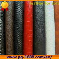 Large picture synthetic leather for sofa
