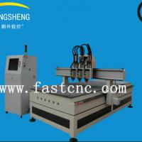Large picture multi-head ATC CNC Router