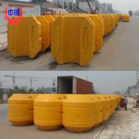Large picture mdpe pipe floater for dredger