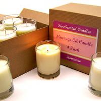 Large picture Massage Candle 4 Pack