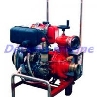 Large picture The diesel engine driven marine water pump