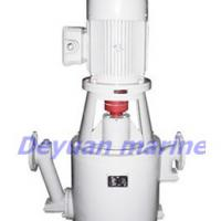 Large picture marine self-suction vertical crushing pump