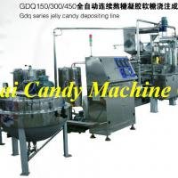 Large picture jelly QQ candy depositing processing machine
