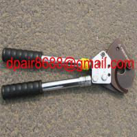Large picture hand Cable cutter with ratchet system