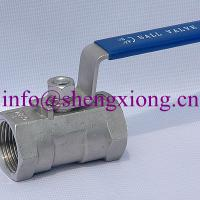 Large picture stainless steel 1pc ball valve
