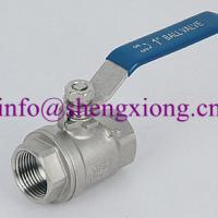 Large picture Stainless Steel Full Bore 2PC Ball Valve
