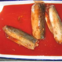 Large picture 155g canned mackerel in tomato sauce
