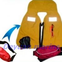 Large picture 150N manual inflatable life jacket