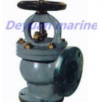 Large picture Marine Cast Steel Flanged Angle Stop Valves
