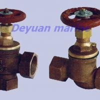 Large picture marine female thread bronze stop valve