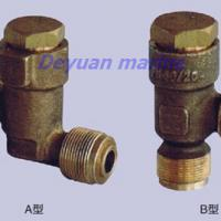 Large picture marine male thread bronze check valve