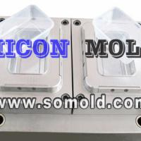 Large picture plastic injection mould, food container mould