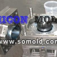 Large picture plastic mould, ice cream bucket mould
