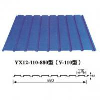 Large picture corrugated steel sheet