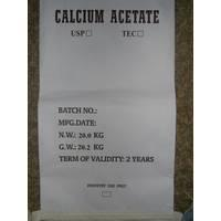 Large picture calcium acetate anhydrous USP29