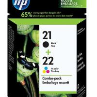 Large picture HP original ink cartridge cc630aa no.21+22 combo