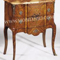 Large picture Commode louis xv prix with marqueterie