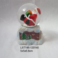 Large picture Christmas santa claus snow globe