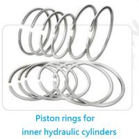 Large picture piston rings for inner hydraulic cylinders