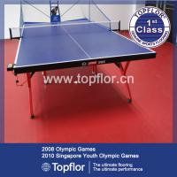 Large picture pvc sports flooring for table tennis court
