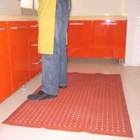 Large picture drainage rubber kitchen matting