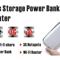 Large picture wireless power bank router 3g wifi