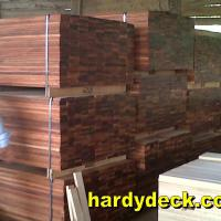 Large picture tigerwood decking